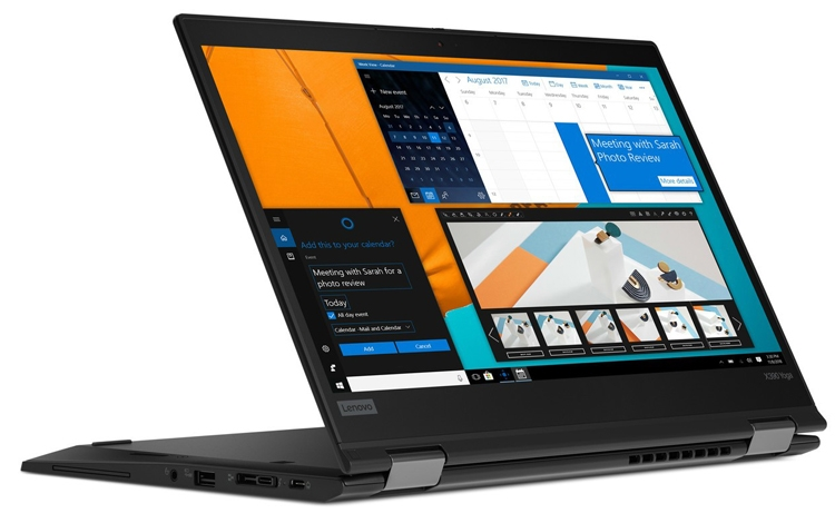 MWC 2019: ноутбук-трансформер Lenovo ThinkPad X390 Yoga для профессионалов