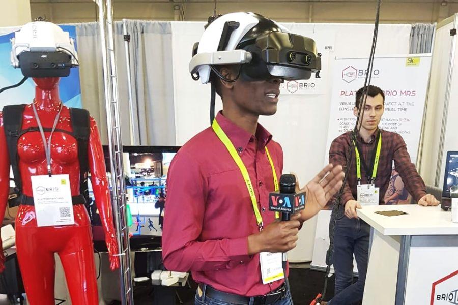 Российский шлем смешанной реальности BRIO MRS представлен на CES 2019