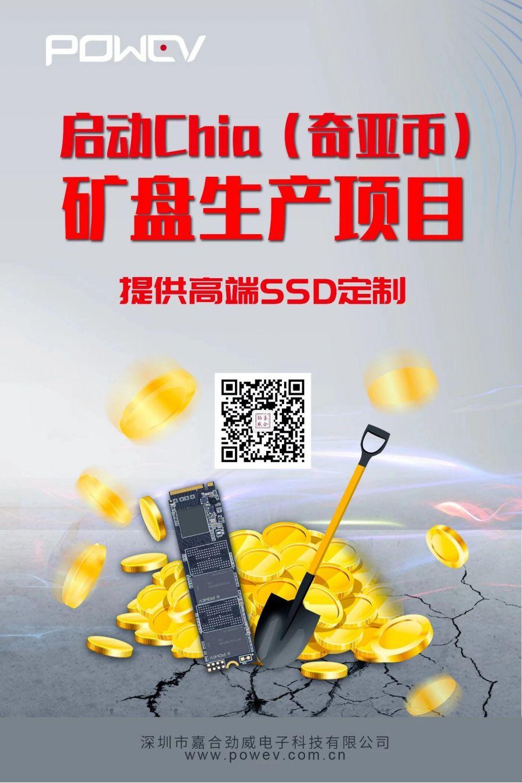 Рост популярности новой криптовалюты Chia Coin может привести к нехватке жестких и SSD дисков по всему миру